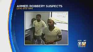 Mesquite Police Seeking Help To Find 2 Armed Robbery Suspects [Video]