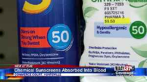Sunscreen Chemical Safety [Video]