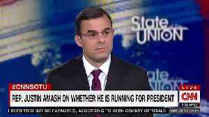 Justin Amash Doesn't Rule Out A 2020 Presidential Bid [Video]