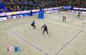 Canadian pair win women's beach volleyball world championship [Video]
