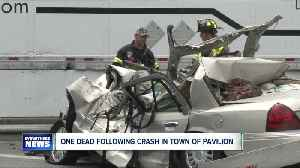 One person dead following a crash in Pavilion [Video]
