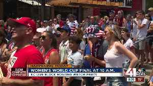 Kansas City getting ready to cheer on Team USA [Video]