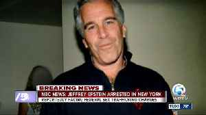 News video: Billionaire Jeffrey Epstein arrested and accused of sex trafficking minors, sources say