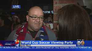 News video: Viewing Parties Already Underway Ahead Of Women's World Cup Finals