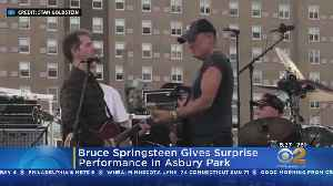 Bruce Springsteen Gives Surprise Performance In Asbury Park [Video]