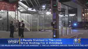 Pregnant Woman, Man Stabbed After Altercation In The Loop [Video]