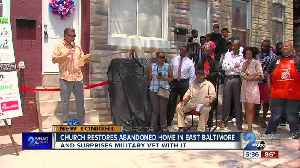 Church restores abandoned home in East Baltimore [Video]