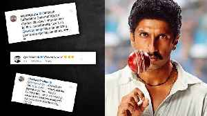Bollywood Celebs REACT To Ranveer Singh's Kapil Dev Look From 83 | Vicky Kaushal, Alia Bhatt [Video]