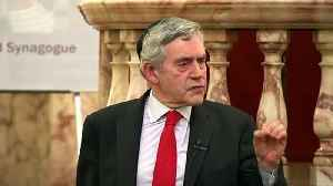 Brown calls on Labour Party to eliminate anti-Semitism [Video]
