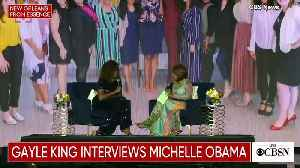 Michelle Obama Explains How Hard it Was to Organize Sleepovers For Her Daughters [Video]