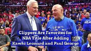 Clippers Are Favorites for NBA Title After Adding Kawhi Leonard and Paul George [Video]