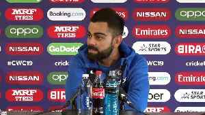 World Cup 2019 | Kohli lauds Indian bowlers, calls Kiwis consistent [Video]