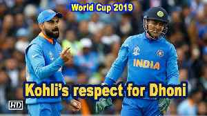 World Cup 2019 |  Dhoni gives me space to discover myself and isn't pushy: Kohli [Video]