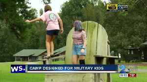 Camp designed for military kids [Video]
