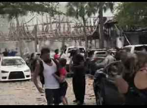 Several Injured as Explosion Leaves Debris Strewn Over Plantation Mall [Video]