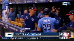 Charlie Morton gets 10th win, Tampa Bay Rays beat New York Yankees 2-1 [Video]