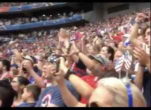 Fans Chant for Equal Pay Before Women's World Cup Final [Video]