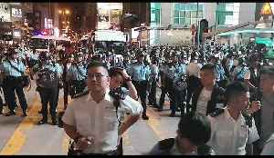 Hong Kong Police Chief Joins Force on Streets as Multiple Protesters Arrested [Video]