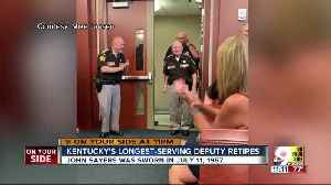 Longest serving Kentucky officer retires from Campbell County Sheriff's Office [Video]
