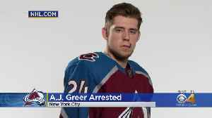 Colorado Avalanche Forward Arrested In New York On Assault Charge [Video]