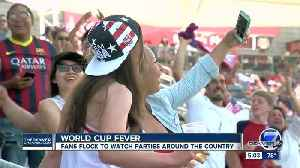 Hundreds show up in force at Dick's Sporting Goods Park to watch the Women's World Cup Championship [Video]