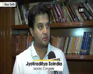 Its my individual decision Jyotiraditya Scindia after resigning AICC general secretary [Video]