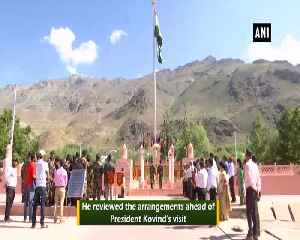 JK CHief Secretary visits Drass War Memorial ahead of Kargil Vijay Diwas [Video]