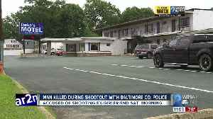 Man killed during shootout with Baltimore County Police [Video]