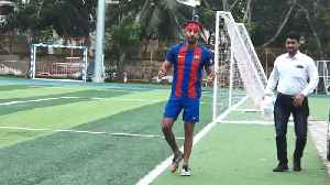 Ranbir Kapoor, Jim Sarbh, others spotted playing football in Mumbai [Video]