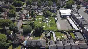 Drone shows an allotment turned into car graveyard [Video]