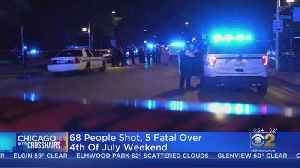 68 Shot, 5 Killed, Over Independence Day Holiday Weekend [Video]