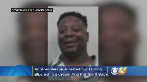 'Copy Cat' Arrested After Licking Blue Bell Ice Cream, Putting It Back In Freezer At Louisiana Store [Video]