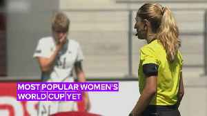 News video: 2019 Women's World Cup: Female football is on the rise