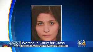 Court Appearance Set For Woman Accused In Deadly Chase, Crash [Video]