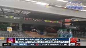 Earthquake Aftermath: Supplies Running Low [Video]