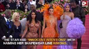 Kim Kardashian West had innocent intentions with shapewear name [Video]