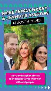 Were Prince Harry and Jennifer Aniston almost a thing? [Video]