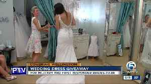 Wedding gown giveaway [Video]