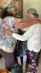 News video: Elderly Sisters Have Tearful Reunion