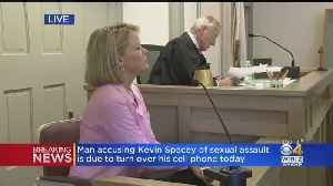 Former TV Anchor Heather Unruh Testifies In Kevin Spacey Case Hearing [Video]