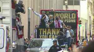 News video: NYC Preparing For Women's World Cup Celebration