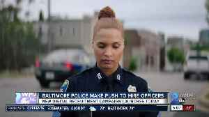 Baltimore Police make push to hire officers [Video]