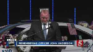 Funeral for Officer John Anderson [Video]