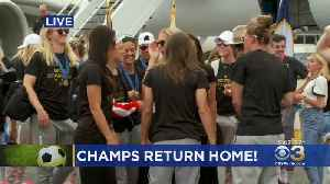 News video: US Women's World Cup Team Returns Home