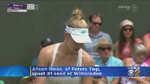 News video: Alison Riske One Step Closer To Winning First Grand Slam