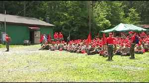 Hawk Mountain camp teaches young rangers survival skills [Video]