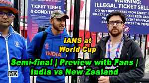 IANS at World Cup | Semi-final | Preview with Fans | India vs New Zealand [Video]