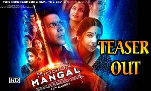News video: Akshay strengthens nations spirit with 'Mission Mangal' | Teaser Out