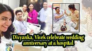 Divyanka, Vivek celebrate wedding anniversary at a hospital [Video]