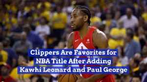 The Clippers Look Good Coming Into Next Season [Video]